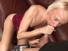 Madison Mayhem is a skinny blond
