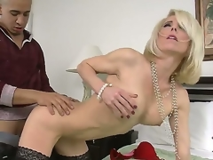 Hunk Bruno Dickemz enjoys fucking his firends sexy mom Jodie Stacks and make her screech