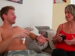 Yeah, I am fond of relaxing here and you shouldnt be against of taking a glance at all the stuff in this action! Take a look at how stud tries to seduce golden-haired babe to fuck.