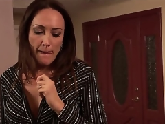 U know, that Michelle Lay is a cheeky milf and she prefers to suck young knobs and her todays martyr is a stylish fellow named Rocco Reed. This chab heard, that Mrs. Lay is an experienced lady