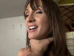 Steaming hot milf with amazing jugs Cynthia Avalon is about to have a piece of Rocco Siffredi and this babe is expecting a truly good and hot time.