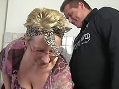 German granny in action