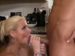Damn sge is hot! Phoenix Marie - gorgeous and fucking ultra famous blonde with big milk cans and astounding long legs desire ta acquire fucking big dose of anal fuck right now and right here!