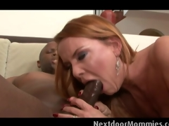 Blonde MILF acquires drilled at the next door