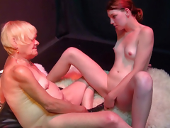 OldNanny Very old granny woman and youthful horny hotty