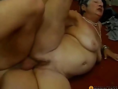 Woman with hirsute pussy screwed by a stud