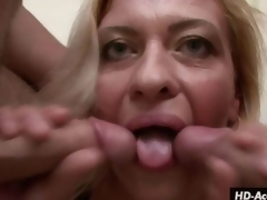 Mature angel kisses 2 rods