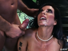 Lewd slut Shay Sights getting drilled hard until her tight asshole is totally sore