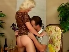Mature whore Kate gets screwed nearly many positions after giving a oral job