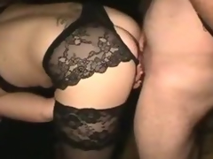 Slutwife Gangbang Build-up