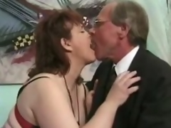 Grown up dark brown Jenny Joyce receives her twat licked and drilled hard